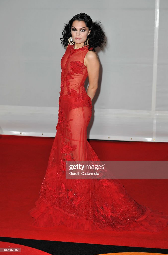 <a gi-track='captionPersonalityLinkClicked' href=/galleries/search?phrase=Jessie+J&family=editorial&specificpeople=5737661 ng-click='$event.stopPropagation()'>Jessie J</a> attends The BRIT Awards 2012 at the O2 Arena on February 21, 2012 in London, England.