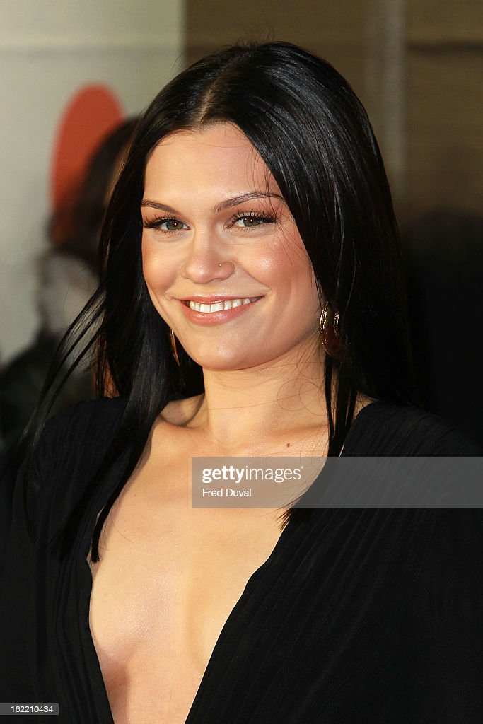 Jessie J attends the Brit Awards at 02 Arena on February 20, 2013 in London, England.