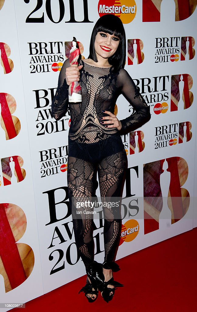 <a gi-track='captionPersonalityLinkClicked' href=/galleries/search?phrase=Jessie+J&family=editorial&specificpeople=5737661 ng-click='$event.stopPropagation()'>Jessie J</a> attends the Brit Awards Shortlist Announcement at the Indigo at O2 Arena on January 13, 2011 in London, England.