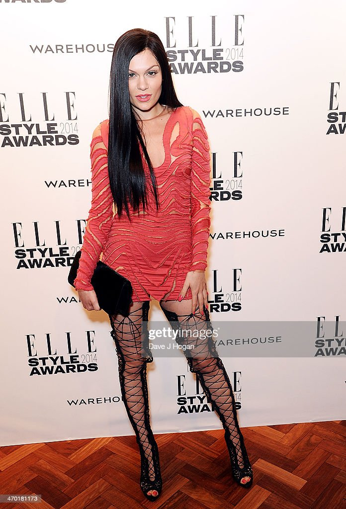 <a gi-track='captionPersonalityLinkClicked' href=/galleries/search?phrase=Jessie+J&family=editorial&specificpeople=5737661 ng-click='$event.stopPropagation()'>Jessie J</a> attends the Elle Style Awards 2014 at one Embankment on February 18, 2014 in London, England.
