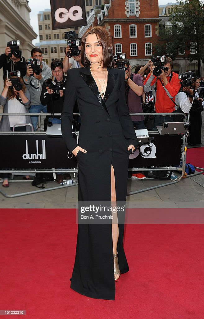 Jessie J attends the GQ Men of the Year Awards 2012 at The Royal Opera House on September 4, 2012 in London, England.