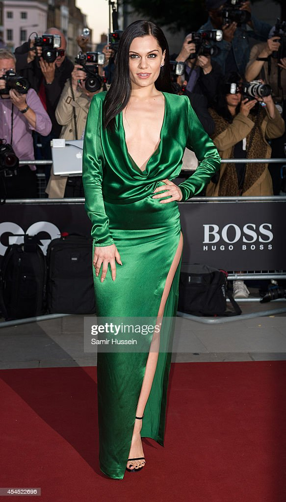 Jessie J attends the GQ Men of the Year awards at The Royal Opera House on September 2, 2014 in London, England.