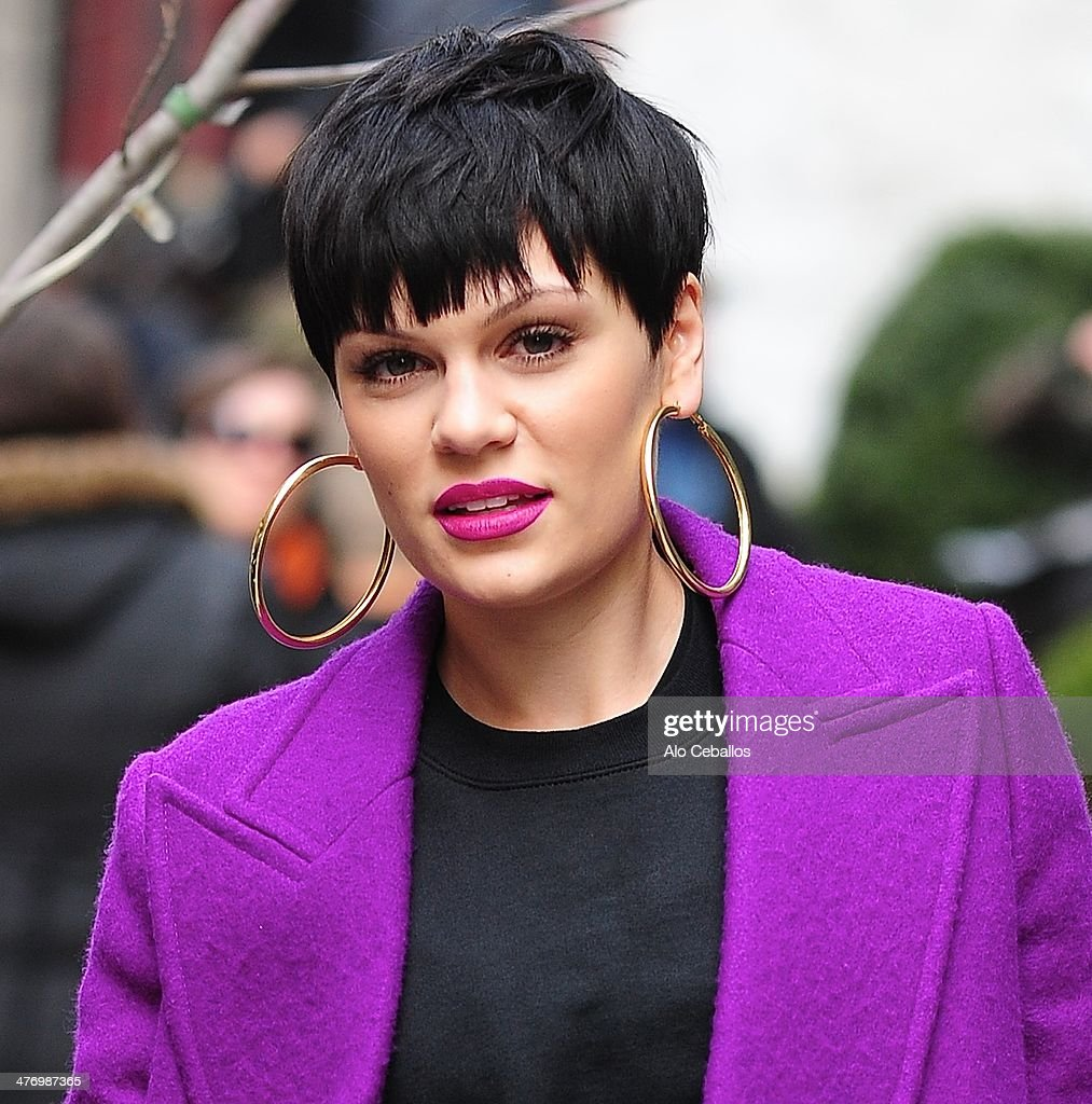 Jessie J is seen in Soho on March 6, 2014 in New York City.
