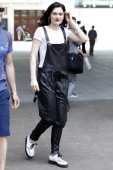 Jessie J is seen leaving the BBC Radio One Studios on July 23 2014 in London England