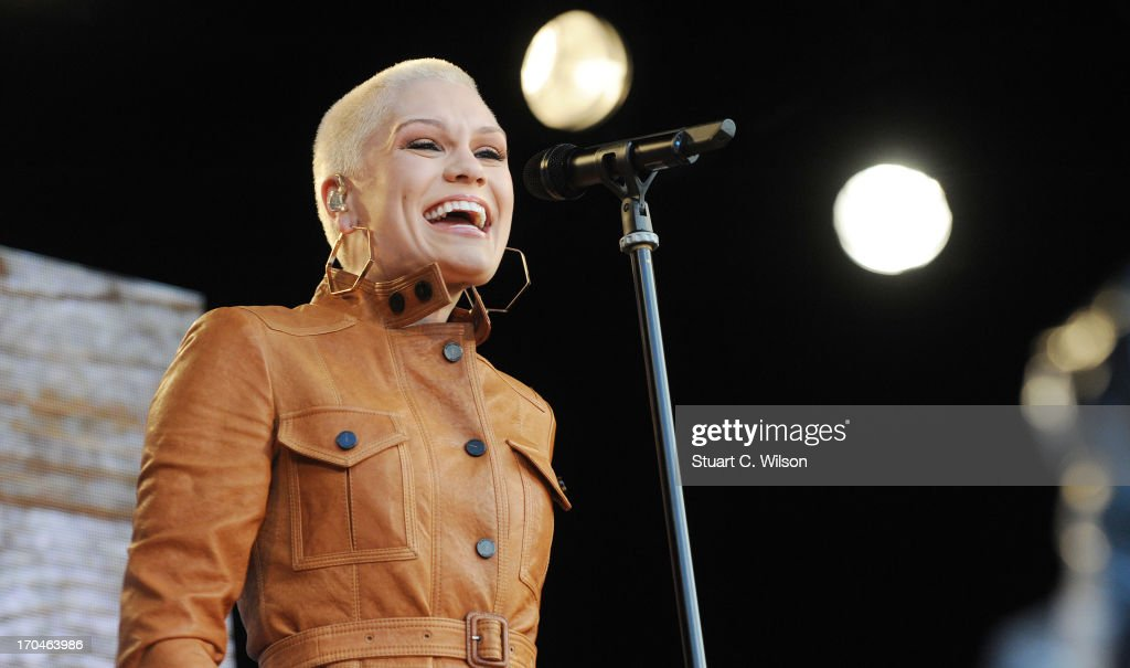 Jessie J performing at agit8 at Tate Modern, ONE's campaign ahead of the G8 at Tate Modern on June 13, 2013 in London, England.