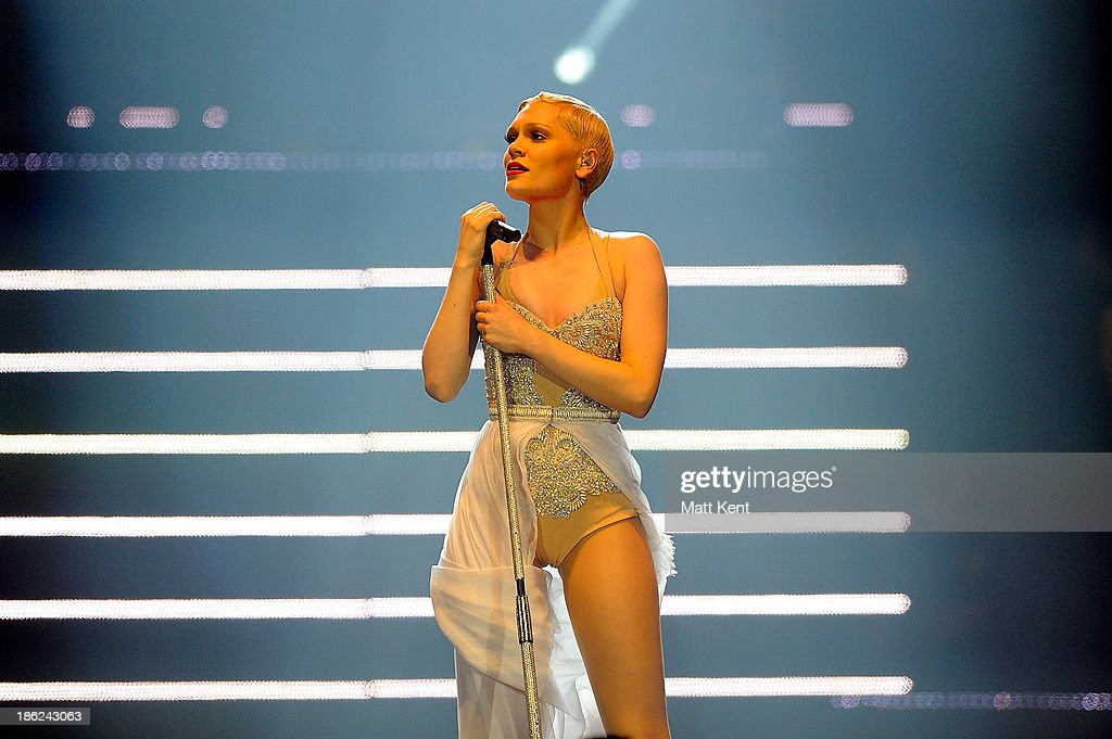 Jessie J performs at 02 Arena on October 29, 2013 in London, England.