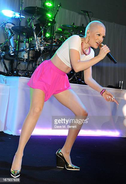 Jessie J performs at Gabrielle's Gala 2013 supported by Lorraine Schwartz at Battersea Power Station on May 2 2013 in London England