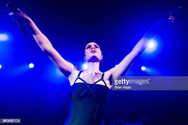 Jessie J performs at O2 Shepherd's Bush Empire on October 12 2017 in London England