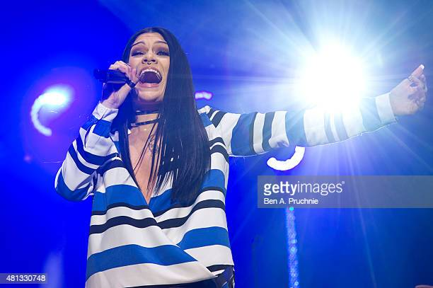 Jessie J performs at Somerset House on July 19 2015 in London England