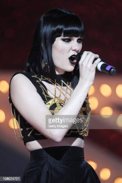 Jessie J performs at The Brit Awards 2011 nominations announcement held at Indigo at The O2 Arena on January 13 2011 in London England