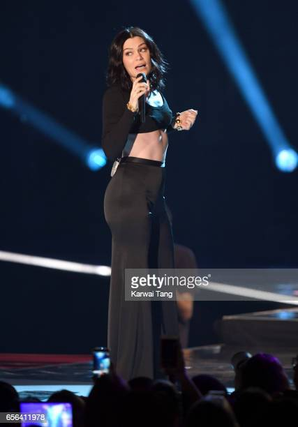 Jessie J performs at WE Day UK at The SSE Arena on March 22 2017 in London United Kingdom
