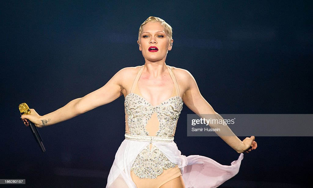 Jessie J performs live on stage at the O2 Arena on October 29, 2013 in London, England.