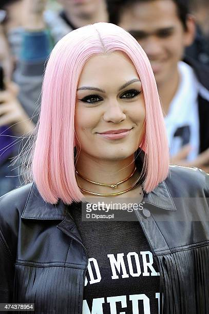 Jessie J performs on ABC's 'Good Morning America' at Rumsey Playfield Central Park on May 22 2015 in New York City