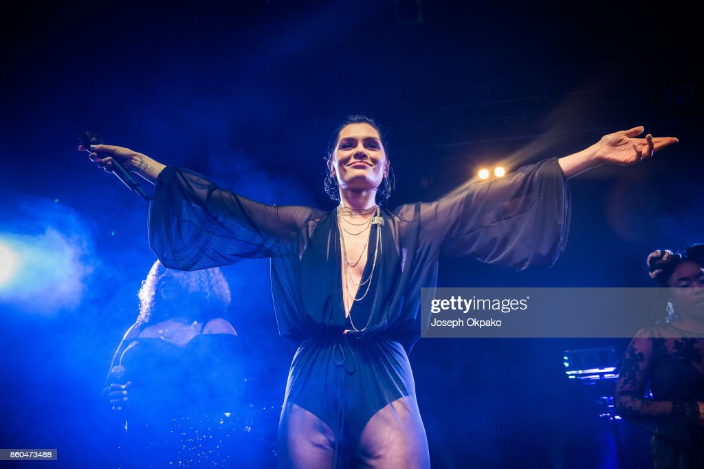 Jessie J performs on stage at KOKO on October 11, 2017 in London, England.