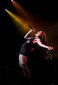 Jessie J performs on stage at O2 Academy Brixton on January 28 2015 in London United Kingdom
