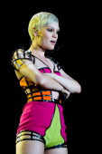 Jessie J performs on stage during a concert in the Rock in Rio Festival on September 15 2013 in Rio de Janeiro Brazil