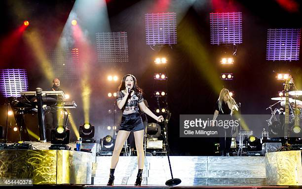 Jessie J performs onstage headlining at the end of the 2nd day of Fusion Festival 2014 on August 31 2014 in Birmingham England
