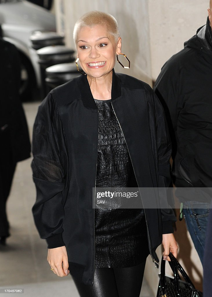 <a gi-track='captionPersonalityLinkClicked' href=/galleries/search?phrase=Jessie+J&family=editorial&specificpeople=5737661 ng-click='$event.stopPropagation()'>Jessie J</a> pictured at the BBC Radio 1 studios on June 13, 2013 in London, England.