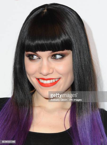Jessie J poses backstage on the second day of the Capital FM Jingle Bell Ball at the 02 Arena London PRESS ASSOCIATION Photo Sunday December 04 2011