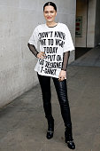 Jessie J seen leaving the BBC Radio 1 Studios on September 23 2014 in London England Photo by Alex Huckle/GC Images