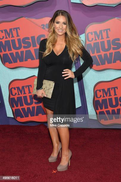 Jessie James attends the 2014 CMT Music awards at the Bridgestone Arena on June 4 2014 in Nashville Tennessee