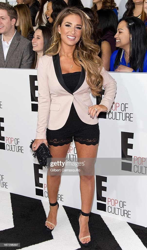 Jessie James attends the E! 2013 Upfront at The Grand Ballroom at Manhattan Center on April 22, 2013 in New York City.