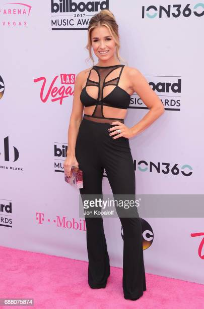 Jessie James Decker arrives at the 2017 Billboard Music Awards at TMobile Arena on May 21 2017 in Las Vegas Nevada