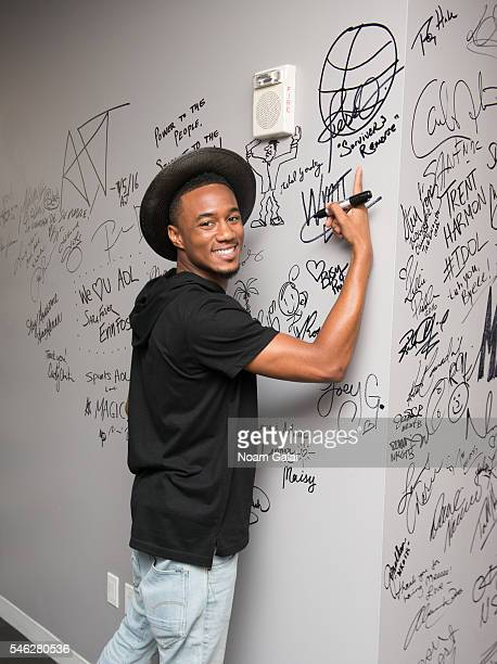 Jessie T Usher visits AOL Build to discuss 'Survivor's Remorse' at AOL Studios In New York on July 11 2016 in New York City