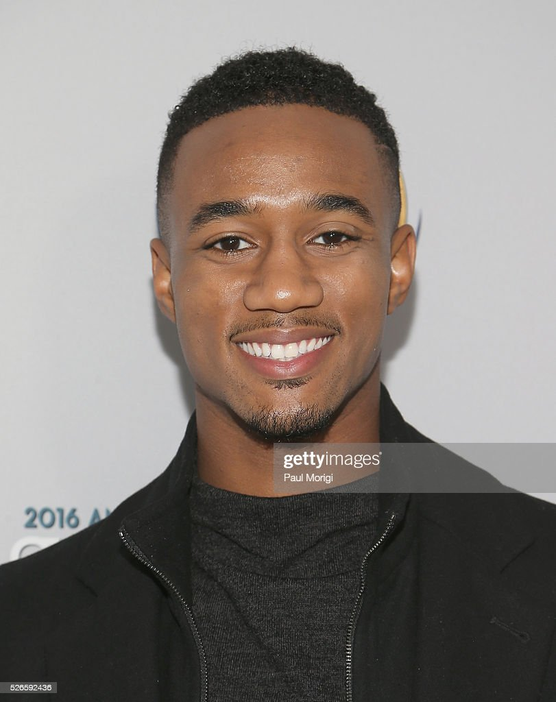 Jessie Usher attends the Garden Brunch prior to the 102nd White House Correspondents' Association Dinner at the Beall-Washington House on April 30, 2016 in Washington, DC.