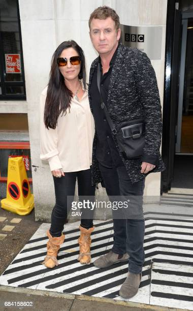 Jessie Wallace and Shane Richie sighting at BBC Radio 2 on May 17 2017 in London England