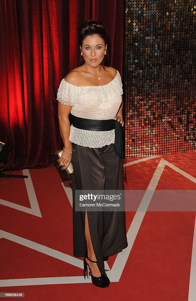 Jessie Wallace attends the British Soap Awards at Media City on May 18, 2013 in Manchester, England.