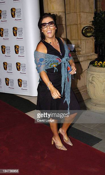 Jessie Wallace during British Academy Television Awards Nominees Party April 20 2006 at The Landmark London Hotel in London Great Britain