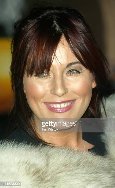 Jessie Wallace during Cirque du Soleil's 20th Anniversary of 'Dralion' Arrivals at The Royal Albert Hall in London Great Britain