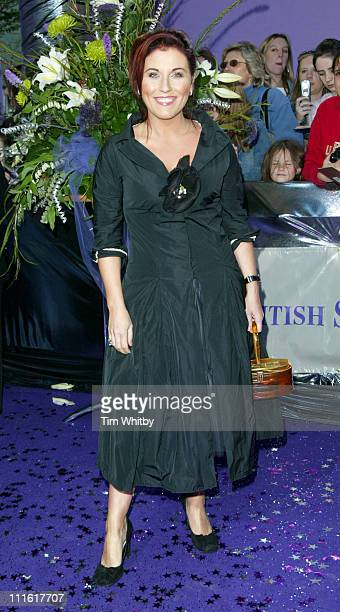 Jessie Wallace during The 2005 British Soap Awards Arrivals at BBC Tv Studios in London Great Britain
