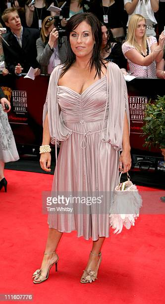 Jessie Wallace during The 2006 British Academy Television Awards Arrivals at Grosvenor House in London Great Britain