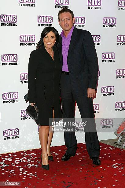 Jessie Wallace during The Best of 2003 TV Moments Arrivals at BBC Television Centre in London Great Britain