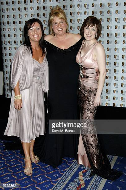 Jessie Wallace Fern Britton and Kacey Ainsworth pose in the Awards Room at the Pioneer British Academy Television Awards 2006 at the Grosvenor House...