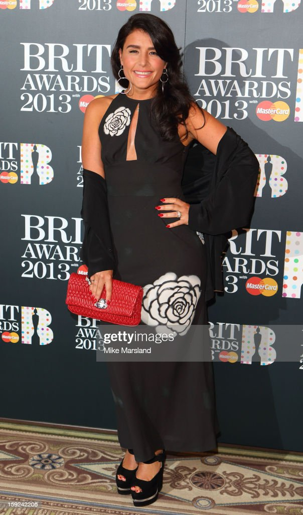 Jessie Ware attends as the nominations for the BRIT Awards are announced at The Savoy Hotel on January 10, 2013 in London, England.