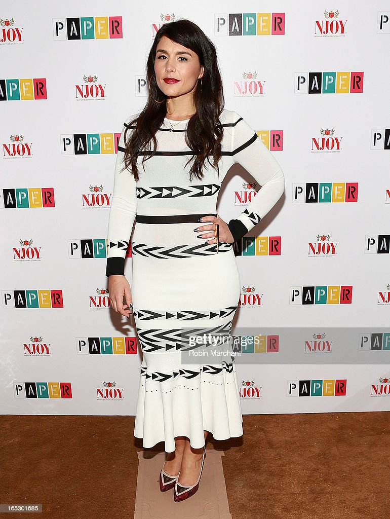 Jessie Ware attends Paper Magazine's 16th Annual Beautiful People Party at Top of The Standard Hotel on April 2, 2013 in New York City.