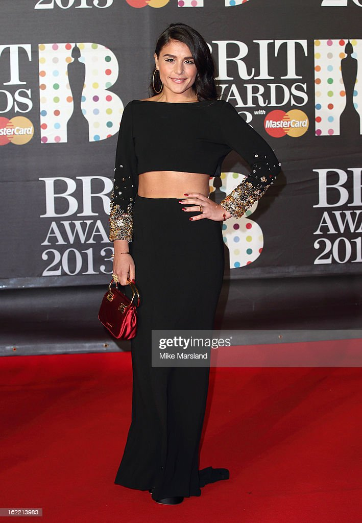 Jessie Ware attends the Brit Awards at 02 Arena on February 20, 2013 in London, England.