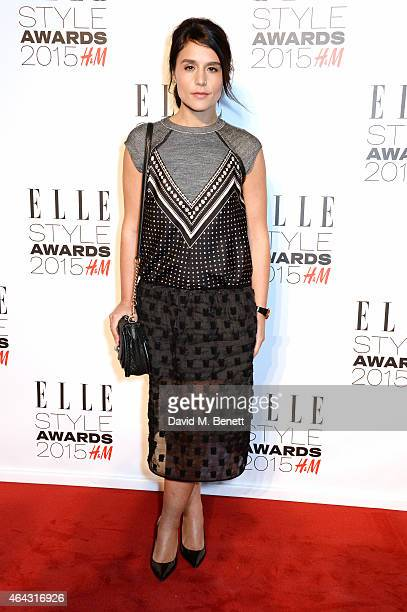 Jessie Ware attends the Elle Style Awards 2015 at Sky Garden @ The Walkie Talkie Tower on February 24 2015 in London England