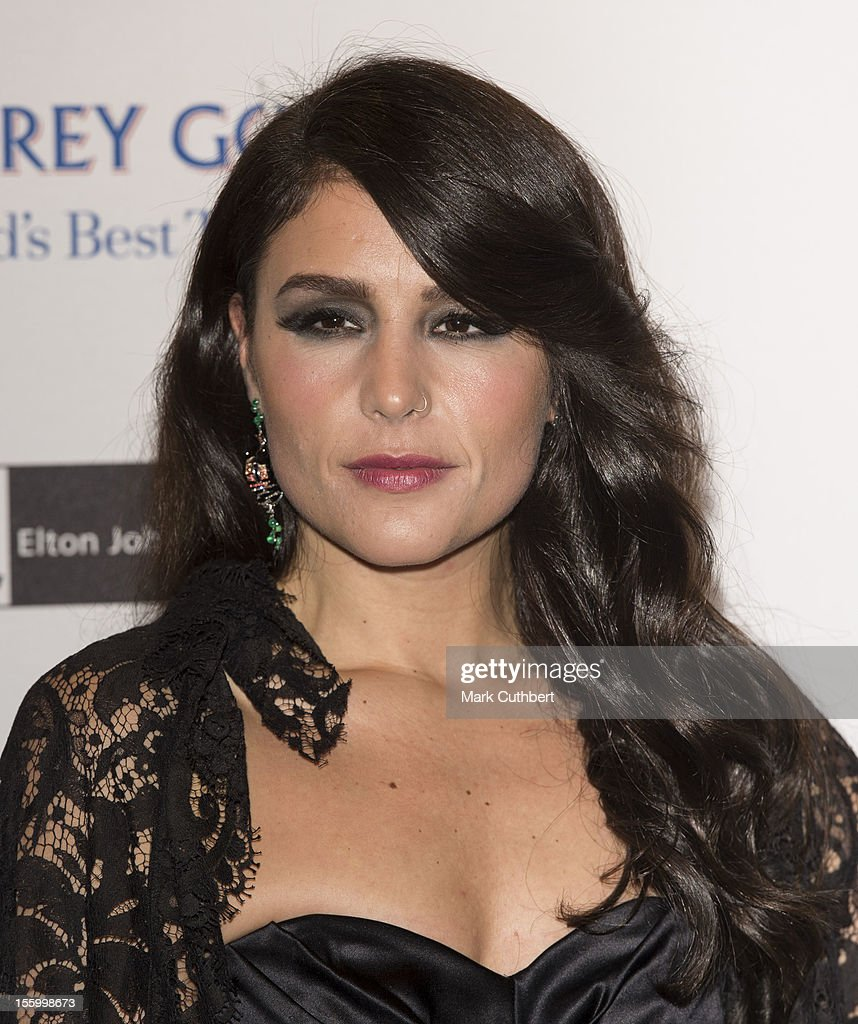Jessie Ware attends the Grey Goose Winter Ball at Battersea Power station on November 10, 2012 in London, England.
