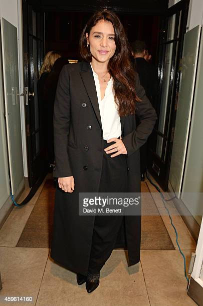 Jessie Ware attends the Stella McCartney Christmas Lights Switch On at the Stella McCartney Bruton Street Store on November 26 2014 in London England