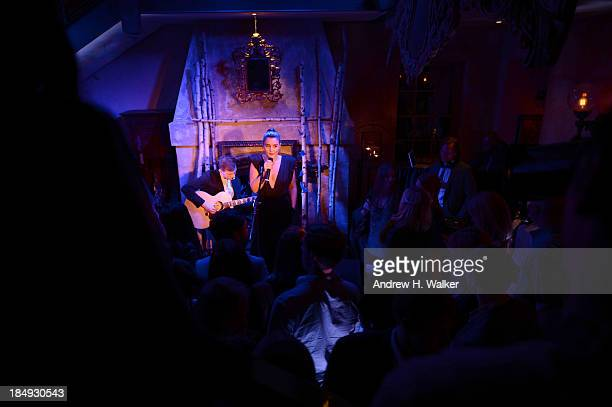 Jessie Ware performs as GREY GOOSE Vodka hosts exclusive speakeasy at the Boulangerie Picardie on October 16 2013 in New York City