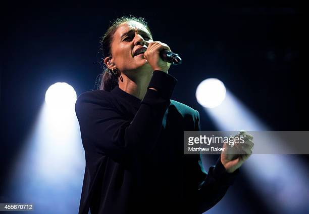 Jessie Ware performs as part of the iTunes Festival at The Roundhouse on September 18 2014 in London England