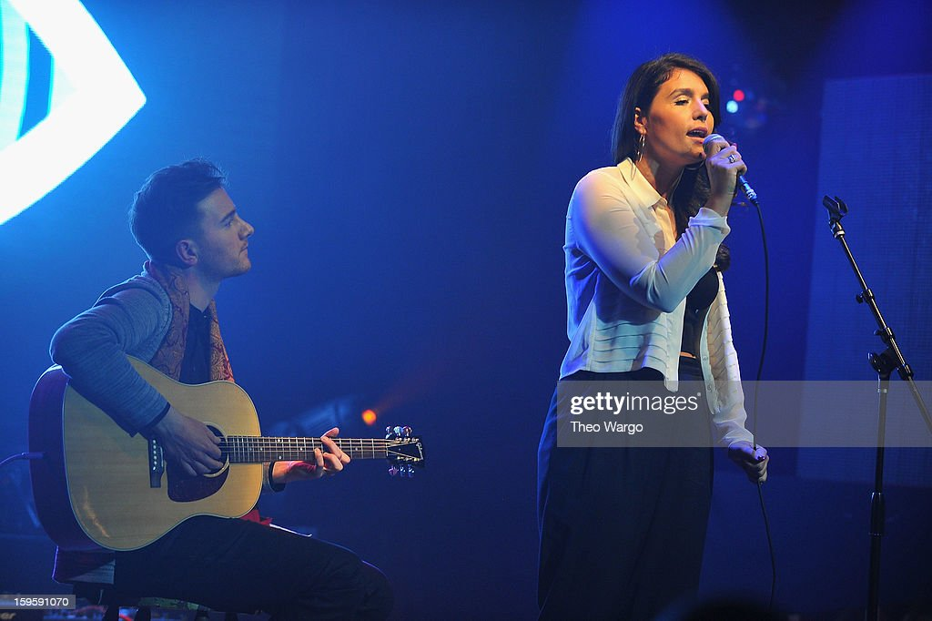 <a gi-track='captionPersonalityLinkClicked' href=/galleries/search?phrase=Jessie+Ware&family=editorial&specificpeople=8930844 ng-click='$event.stopPropagation()'>Jessie Ware</a> performs during the 2013 MTV Artist To Watch Concert at Highline Ballroom on January 16, 2013 in New York City.