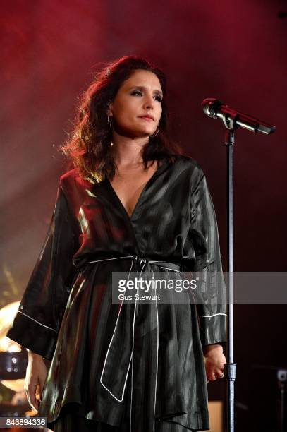 Jessie Ware performs on stage at Islington Assembly Hall on September 7 2017 in London England