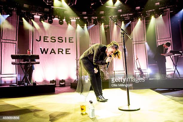 Jessie Ware performs onstage during the 18th night of the iTunes Festival 2014 at The Roundhouse on September 18 2014 in London United Kingdom
