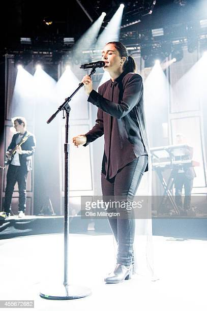 Jessie Ware performs onstage headlining the 18th night of the 2014 iTunes Festival at The Roundhouse on September 18 2014 in London United Kingdom
