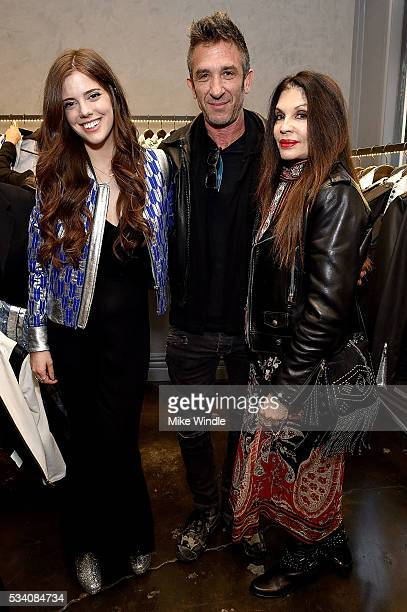 Jessie Willner Davis Factor and Loree Rodkin attend The Mighty Company launch at Shop Curve on May 24 2016 in Los Angeles California